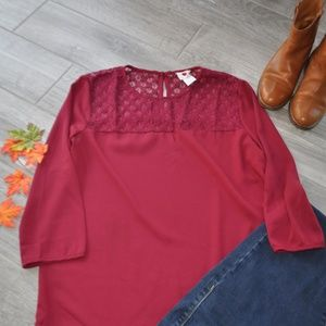 Maroon One Clothing Blouse